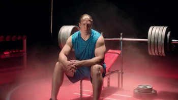 Jack Link's Beef Jerky TV Spot, '#SasquatchWorkout: Bench' Ft Clay Matthews