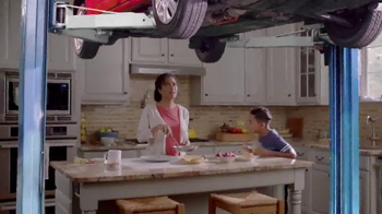 Meineke Car Care Centers TV Spot, \'Kitchen Lift\'