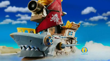 Imaginext Shark Bite Pirate Ship TV Spot, 'Big Bite'