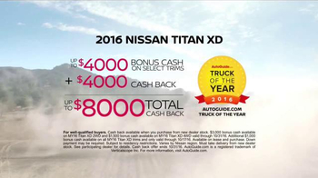 Nissan Year of the Truck & SUV Event TV Spot, 'Any Terrain' - Thumbnail 9