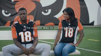 NFL Shop TV Spot, 'Earn This Jersey' Featuring A.J. Green