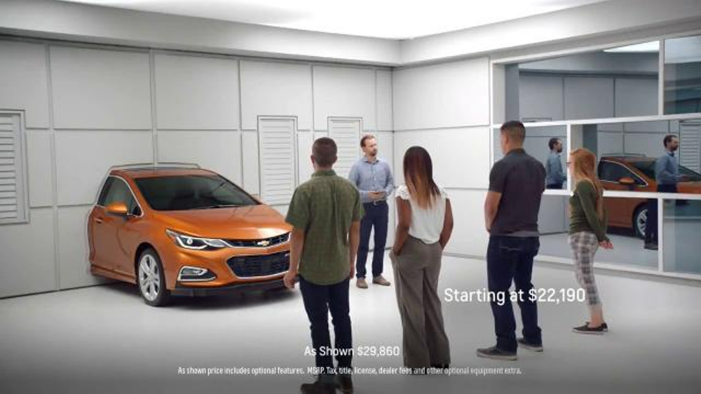 2017 Chevrolet Cruze Hatchback TV Commercial, 'Wall' - iSpot.tv