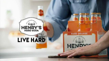 Henry's Hard Orange Soda TV Spot, 'Tomorrow (orange)'