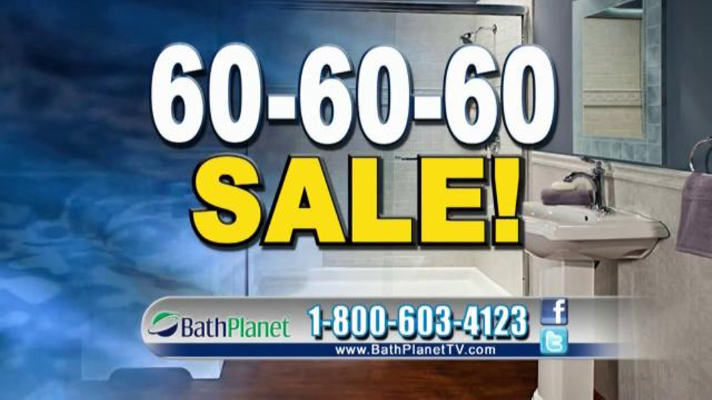 Bath Planet 60 60 60 Sale TV Commercial 39 It 39 S Time 39