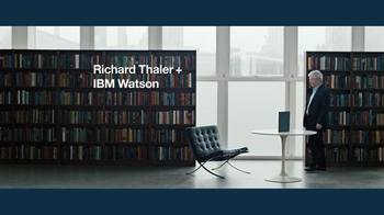 IBM Watson TV Spot, 'Richard Thaler + IBM Watson on Behavioral Economics' - Thumbnail 1