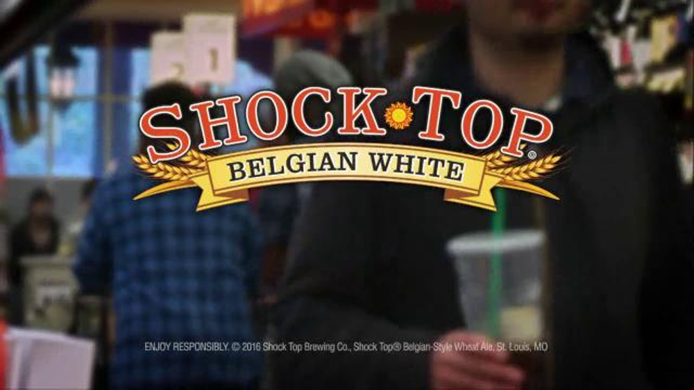 shock top belgian white tv commercial 39 let 39 s party. Black Bedroom Furniture Sets. Home Design Ideas