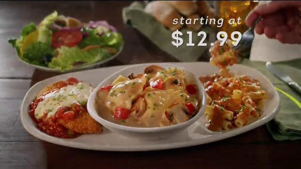 Olive Garden Create Your Own Tour Of Italy Tv Commercial 39 Choose Three 39