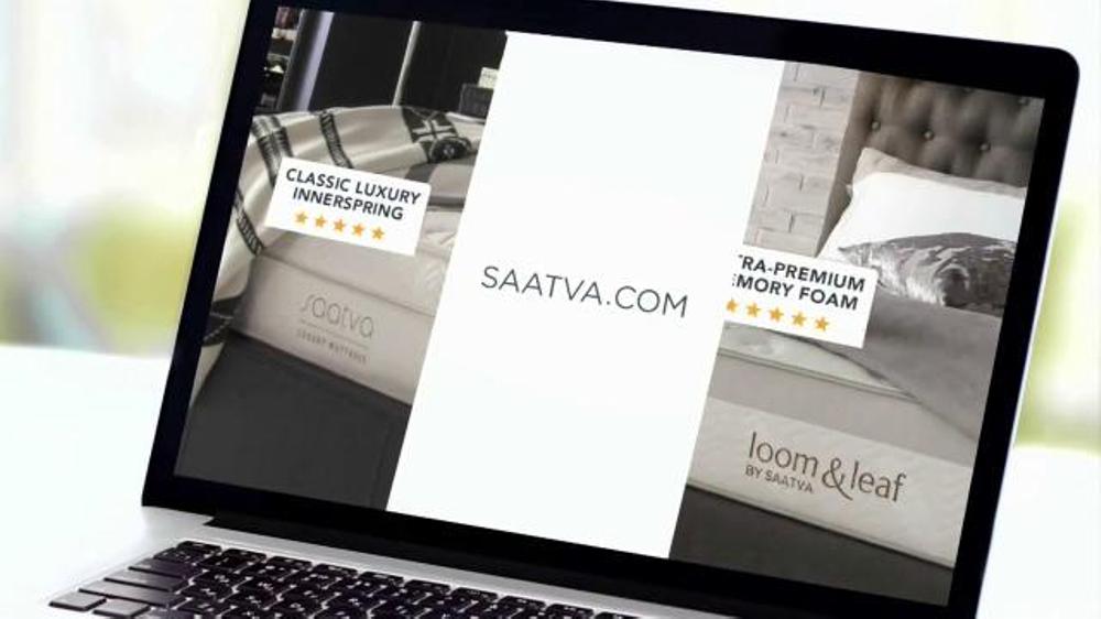 saatva mattress tv commercial for a great ispottv - Saatva Mattress