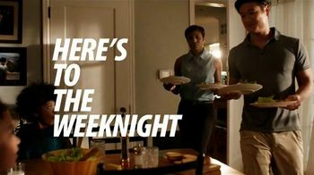Walmart Grocery TV Spot, 'Here's to the Weeknight'