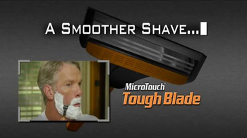 MicroTouch Tough Blade TV Spot, 'Fans' Featuring Brett Favre