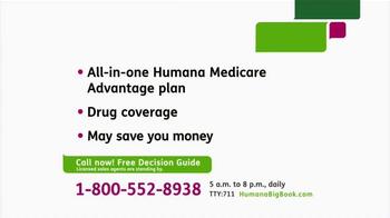 Humana Medicare Advantage Plan TV Spot, 'Decision Guide'