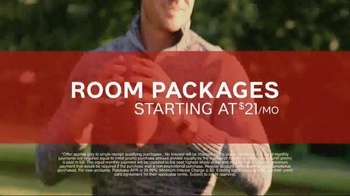 Ashley Homestore Columbus Day Sale TV Spot, 'Room Packages'