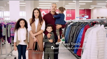 Burlington TV Spot, 'Coats AND Savings for Everyone at Burlington'
