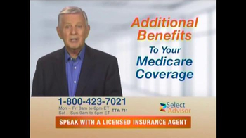 Select Advisor TV Spot, 'Additional Benefits'