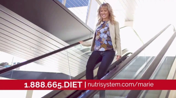 Nutrisystem Lean13 TV Spot, 'First Step' Feat. Marie Osmond, Dan Marino
