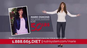 Nutrisystem Lean13 TV Spot, 'First Step' Feat. Marie Osmond, Dan Marino