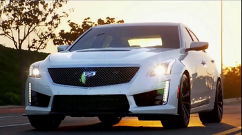 2017 Cadillac CTS-V TV Spot, \'CTS-V Why\'