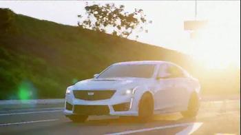 2017 Cadillac CTS-V TV Spot, 'CTS-V Why' - Thumbnail 4