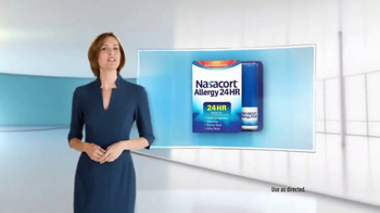 Nasacort Allergy 24Hr TV Spot, 'Zero' - 2640 commercial airings