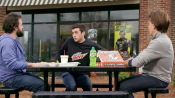 Little Caesars Hot-N-Ready Lunch Combo TV Spot, 'Fast' Feat. Chase Elliott