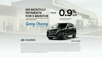 Hyundai Spring Cleaning Sales Event TV Spot, 'Band: 2017 Tucson'