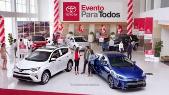 Toyota Evento Para Todos TV Spot, 'Todos los modelos: 2017 RAV4' [Spanish]