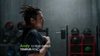 Tempur-Pedic TV Spot, 'Andy Stumpf: Train Hard. Sleep Hard.'