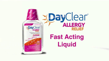 DayClear Allergy Relief TV Spot, 'Fast Acting Liquid'
