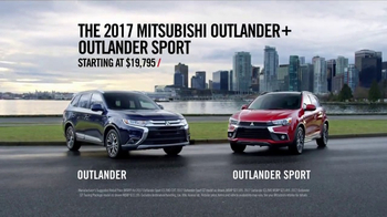 2017 Mitsubishi Outlander and Outlander Sport TV Spot, 'Fabric/3rd Row'