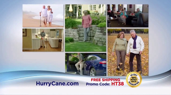 The HurryCane TV Spot, 'No Walk in the Park: Freedom Edition'
