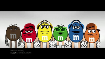 M&M's TV Spot, 'Bite-Size Beat by Kelly S, Cumberland, ME'