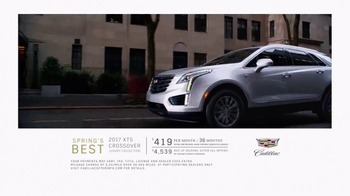 Cadillac Spring's Best TV Spot, '2017 Cadillac XT5' Song by Slow Magic - Thumbnail 9
