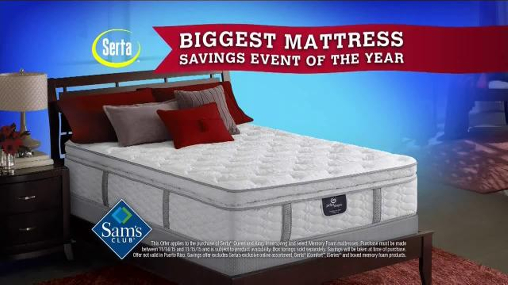 Sam S Club Biggest Mattress Savings Event Of The Year Tv
