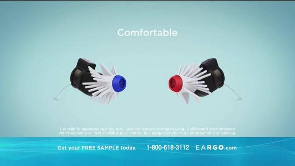 Eargo TV Commercial, 'Virtually Invisible' - iSpot.tv
