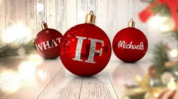 Michaels TV Spot, 'Holiday Inspirations & Ideas'