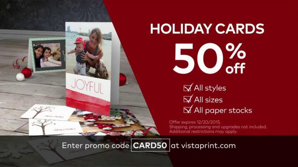Vistaprint Holiday Cards TV Commercial, 'Perfect Moments' - iSpot.tv