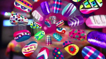 Crazy Lights Nail Design Studio Spot, 'Disney Channel: Creativity'