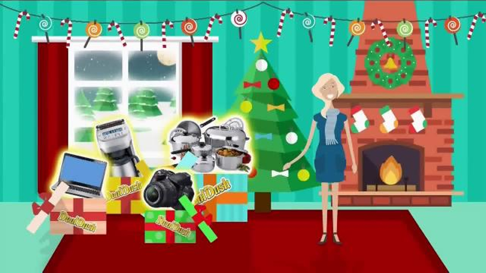 DealDash TV Commercial, 'Christmas Gifts' - iSpot.tv