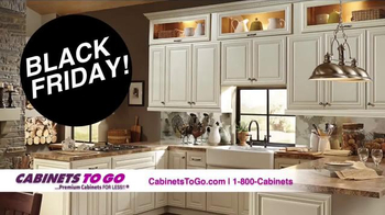 Cabinets To Go Black Friday Kitchen Event TV Spot, U0027Limited Time Onlyu0027