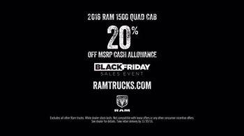 Ram Trucks Black Friday Sales Event TV Spot, 'Light Up the Holidays: Quad'