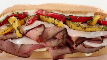 Arby's Fire-Roasted Philly Sandwich TV Spot, 'Fresh'