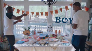 NFL TV Spot, 'Football Is Family: Super Bowl 50 Baby Shower'