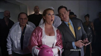 Old Navy TV Spot, 'Fight Night: 50 Percent Off' Featuring Amy Schumer