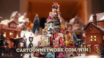 Cartoon Network Holiday Sweepstakes TV Spot, 'Special Time'