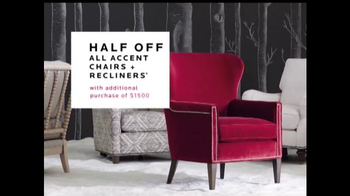 Bassett Black Friday Weekend Sale TV Spot, 'Accent Chairs & Recliners'