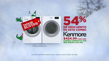 Sears Evento de Electrodomésticos de Black Friday TV Spot, 'Combo'[Spanish]