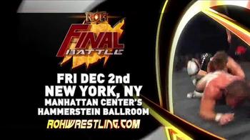 ROH Wrestling TV Spot, '2016 Final Battle'