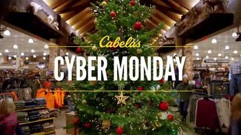 Cabela's Cyber Monday TV Spot, 'Rubber Boots, Goose Decoys and Shirts'