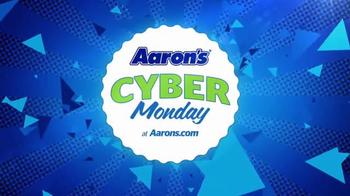 Aaron's Cyber Monday TV Spot, 'Gigantic'