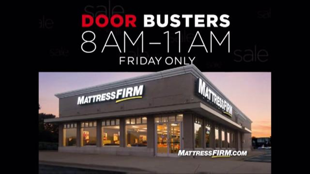 mattress firm sale tv commercial u0027black friday ispottv